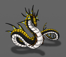 Verden-Lightning Wyrm by Scatha-the-Worm
