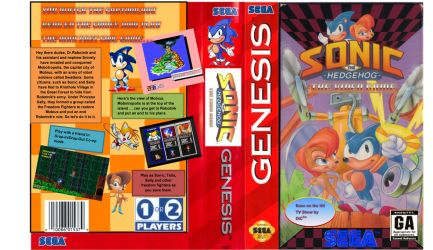 Sonic The Hedgehog Satam Genesis Full by ClassicSonicSatAm