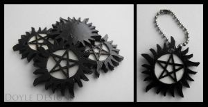 Anti-Possession Keychain by DoyleDesigns