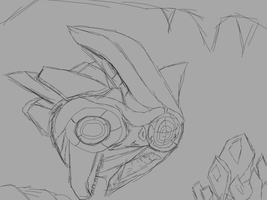 Probe Sketch WIP' by CatPudding