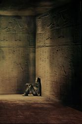 The Egyptian Temple Thoughts by ZODC