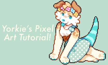 yorkie's pixel art tutorial! by inolesco