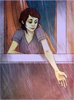raining by andrahilde