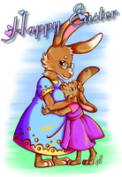 Happy Easter by Contugeo
