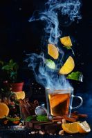 Lemon tea (Really Hot) by dinabelenko