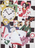 Alice in Wonderland Cut+Paste by Paigy-POP