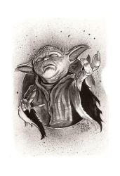 Yoda use The Force by cdelafuente