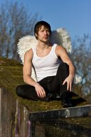 Grunge Angel stock 40 by Random-Acts-Stock