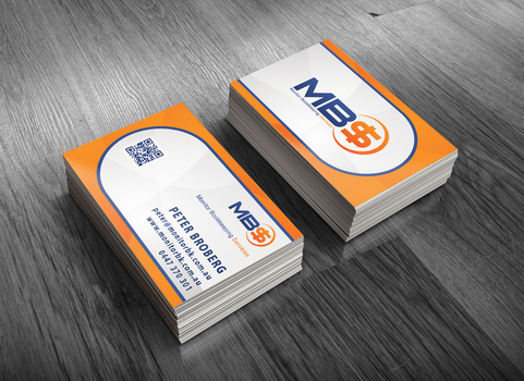 MBS Business Card Mock-up by MasFx