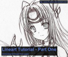 Lineart Tutorial 01 - Ink by MightyLeafy