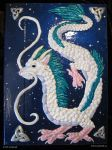 Haku Celtic Starry Sky Book by sunhawk