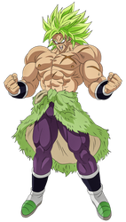 Broly 2018 Official by obsolete00