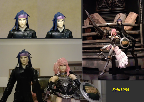 Final Fantasy XIII-2 Caius Play Arts by zelu1984