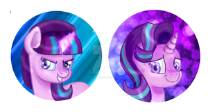 Starlight Buttons by cosmocatcrafts