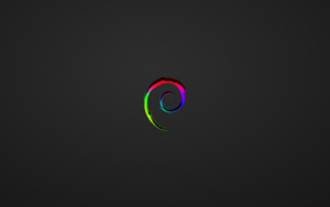 Debian Colored Wallpaper by thales-img