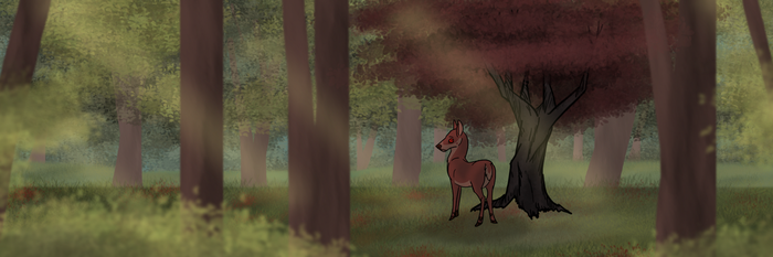 The Not So Dark Forest (old concept art) by Songdog-StrayFang