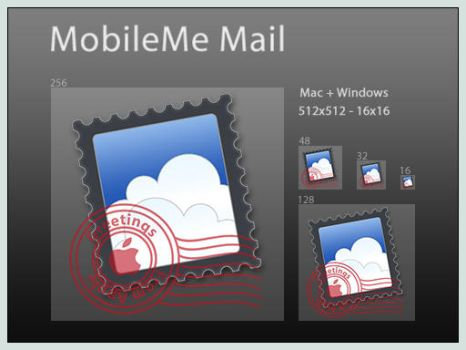 MobileMe Mail Icon by DoNotThrowAway