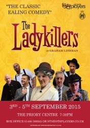 The Ladykillers artwork for St Neots Players by timmoproductions