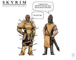 Skyrim: Moments with... by Dadrick