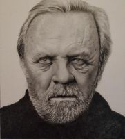 Sir Anthony Hopkins by tagroves