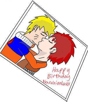 Happy Birthday Naruhinaluvrx by dragzata