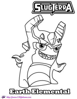 Slugterra Coloring Pages On Coloringpagesrus Deviantart Sw Coloring Page