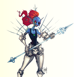 Undyne by xluxifer