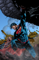 Superman Unchained by LazerBat