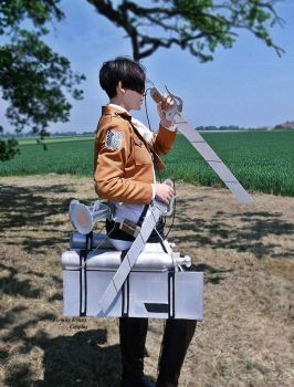 Levi Ackerman cosplay - Attack on titan by Firmily
