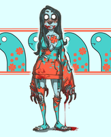 EEL GIRL WANTS YOUR BLOOD by SlackWater