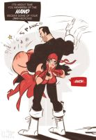 The Punisher and Elektra - tOUCHe...