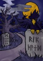 Murkrow by beverly546