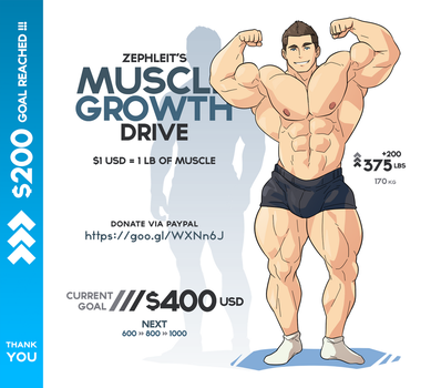 Muscle Growth Drive - Level 2 by zephleit