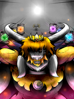 Face to face with Asgore by GraphShadow