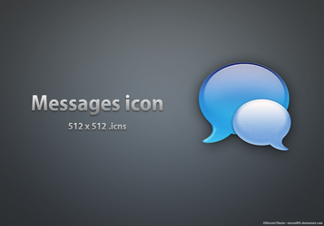 Messages Icon by Vincee095