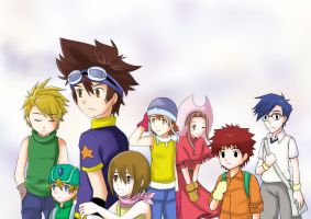 Digimon: 8 digidestined by kairikazu
