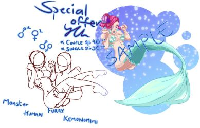 [OPEN] Special Offer YCH by falcoDArgento