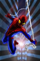 the amazing spiderman by alberic-cheneau