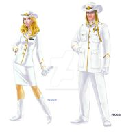 Jack of Harts Texas Marine Corps Dress Whites by MedronPryde
