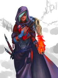 Fire Mage by dashokiboo