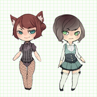 Simple Adopts (closed) by mint-muffin