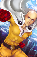 One Punch Man by ElizaLento