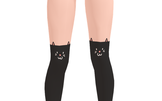MMD - Cat Socks download by BECKY-MMD