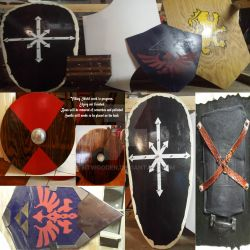 Some Shields we have been making by NTWooden