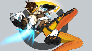 Overwatch, Tracer by GiannisXD55