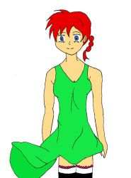 Ranma in summer dress by TGPL