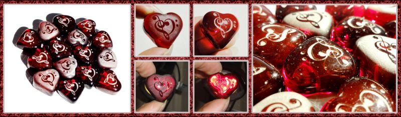 Clef Heart Hearts by ChimeraDragonfang