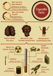 Cigarette Infographic (Indonesian) by yudhabastard
