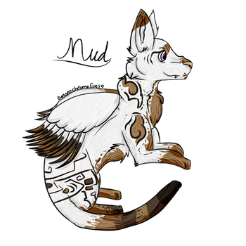 Mud // Art Trade by monochromelives