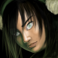 Toph Bei Fong by greendesire